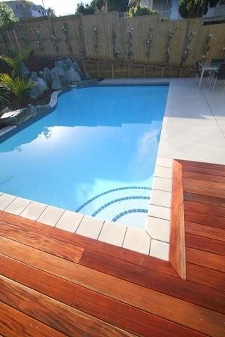 Scapetech Landscaping around a pool